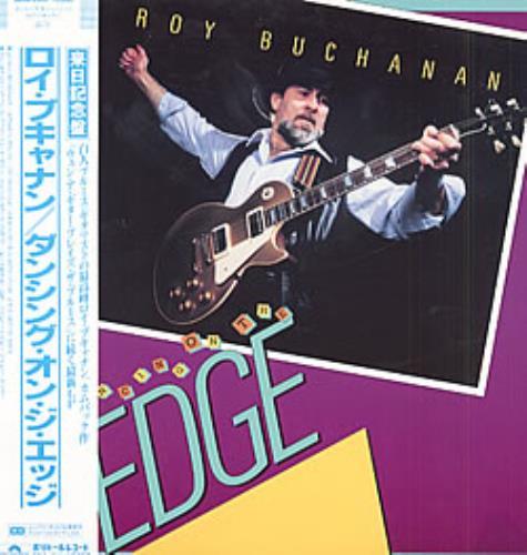 Roy Buchanan Dancing On The Edge vinyl LP album (LP record) Japanese YBULPDA197314