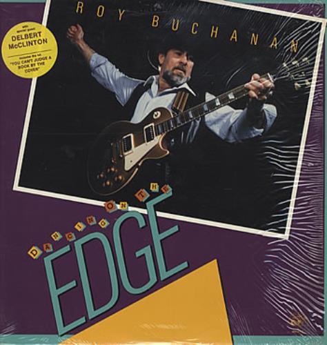 Roy Buchanan Dancing On The Edge vinyl LP album (LP record) US YBULPDA305970