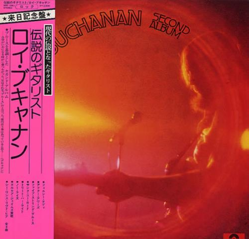Roy Buchanan Second Album Japanese Vinyl Lp Album Lp