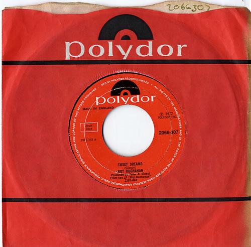 "Roy Buchanan Sweet Dreams - Wide 7"" vinyl single (7 inch record) UK YBU07SW610324"