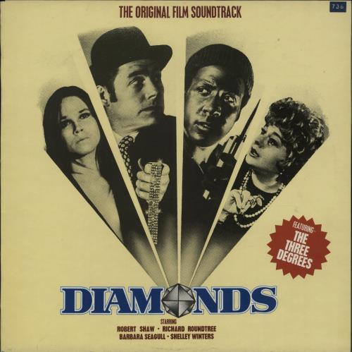 Roy Budd Diamonds vinyl LP album (LP record) UK RA9LPDI632152