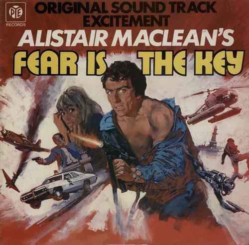 Roy Budd Fear Is The Key vinyl LP album (LP record) UK RA9LPFE580763