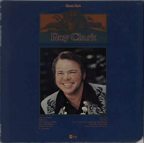 Roy Clark Classic Clark vinyl LP album (LP record) US ASQLPCL608081