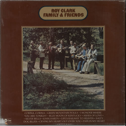 Roy Clark Family & Friends vinyl LP album (LP record) US ASQLPFA633192