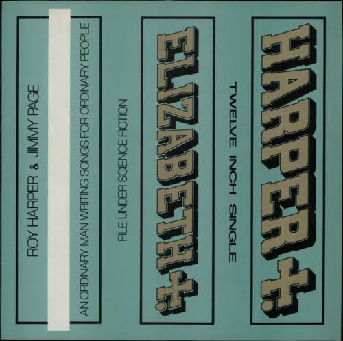 """Roy Harper Elizabeth 12"""" vinyl single (12 inch record / Maxi-single) UK ROY12EL593871"""