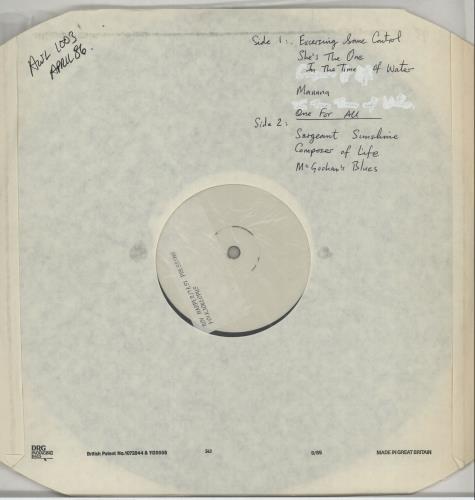 Roy Harper Folkjokeopus - Test Pressing vinyl LP album (LP record) UK ROYLPFO651487