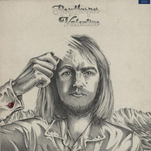 Roy Harper Valentine - 1st - Factory Sample vinyl LP album (LP record) UK ROYLPVA754659