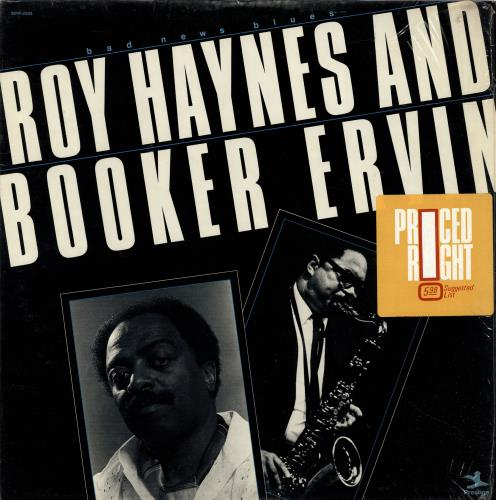 Roy Haynes Bad News Blues - shrink vinyl LP album (LP record) US RHALPBA532353