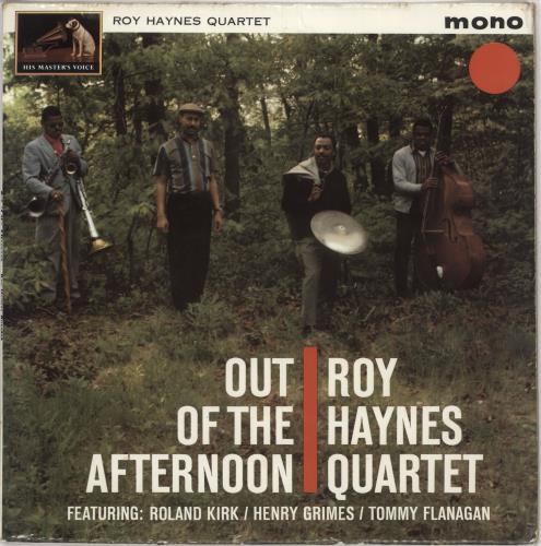 Roy Haynes Out Of The Afternoon - 1st vinyl LP album (LP record) UK RHALPOU744703