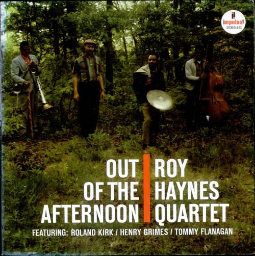 Roy Haynes Out Of The Afternoon vinyl LP album (LP record) US RHALPOU532352