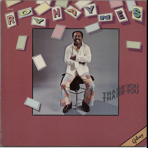 Roy Haynes Thank You Thank You vinyl LP album (LP record) US RHALPTH631750