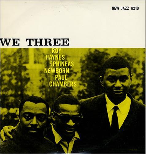 Roy Haynes We Three vinyl LP album (LP record) US RHALPWE361605