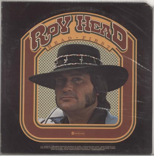 Roy Head & The Traits Head First vinyl LP album (LP record) US R-0LPHE721316