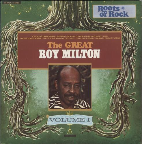 Roy Milton The Great Roy Milton vinyl LP album (LP record) US R3-LPTH712396