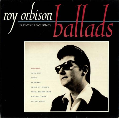 Roy Orbison Ballads 22 Classic Love Songs Uk Vinyl Lp