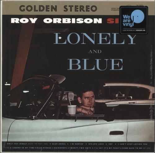 Roy Orbison Lonely And Blue - Sealed vinyl LP album (LP record) UK RYOLPLO736467