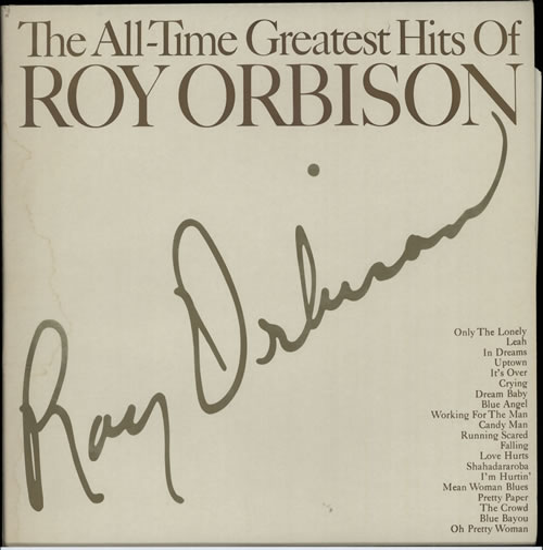 Roy Orbison The All-Time Greatest Hits - EX 2-LP vinyl record set (Double Album) UK RYO2LTH572923