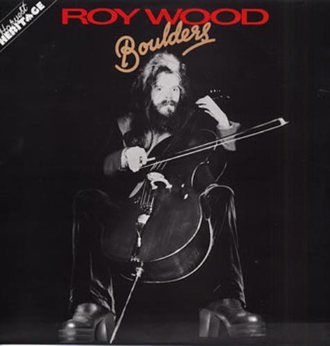 Roy Wood Boulders - Factory Sample vinyl LP album (LP record) UK RWOLPBO309240