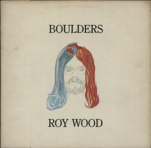 Roy Wood Boulders - Factory Sample vinyl LP album (LP record) UK RWOLPBO362947