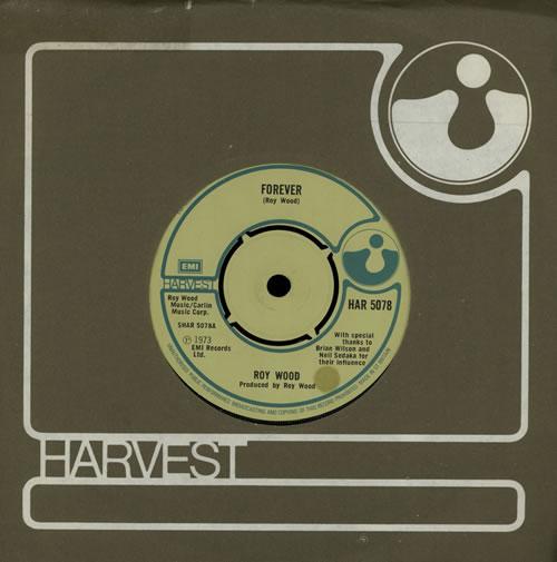 "Roy Wood Forever 7"" vinyl single (7 inch record) UK RWO07FO568826"