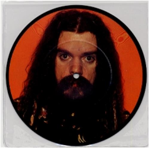 """Roy Wood On The Road Again 7"""" vinyl picture disc 7 inch picture disc single UK RWO7PON102353"""