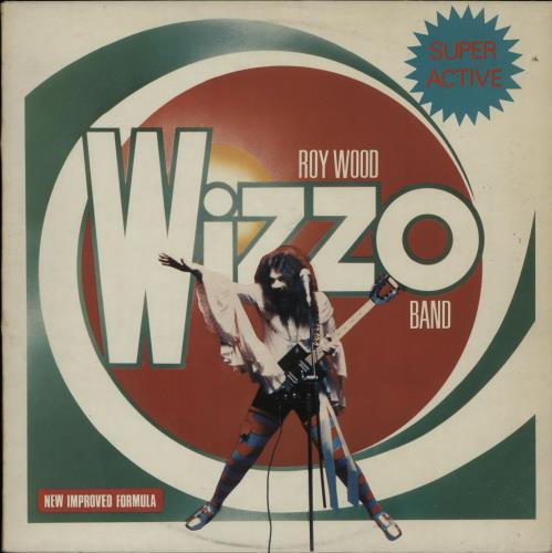 Roy Wood Super Active Wizzo vinyl LP album (LP record) UK RWOLPSU309163