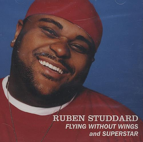 "Ruben Studdard Flying Without Wings CD single (CD5 / 5"") US UBDC5FL252477"