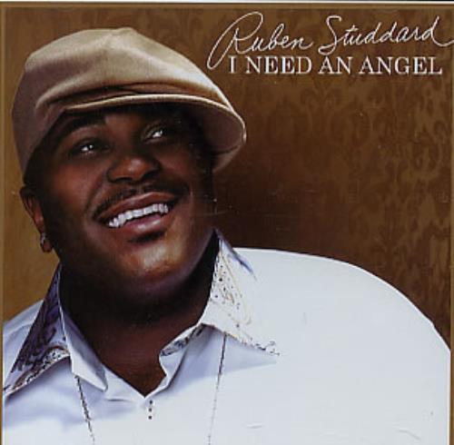 "Ruben Studdard I Need An Angel CD single (CD5 / 5"") US UBDC5IN312633"