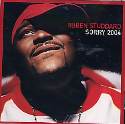 "Ruben Studdard Sorry 2004 CD single (CD5 / 5"") US UBDC5SO273949"