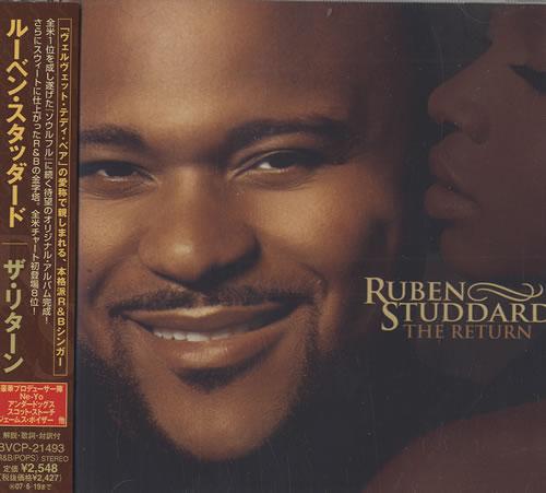 Ruben Studdard The Return CD album (CDLP) Japanese UBDCDTH493244