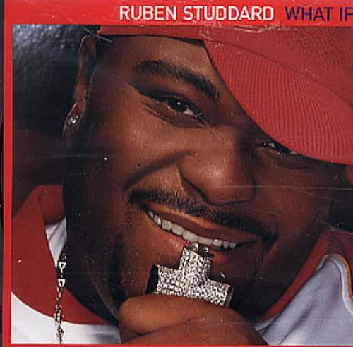 "Ruben Studdard What If CD single (CD5 / 5"") US UBDC5WH300276"