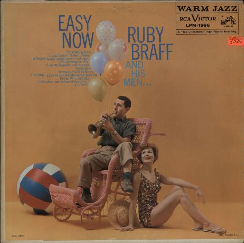 Ruby Braff Easy Now vinyl LP album (LP record) US R/BLPEA672704