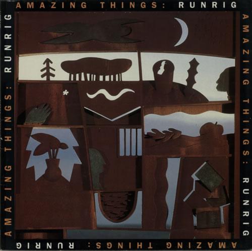 Runrig Amazing Things vinyl LP album (LP record) UK RUNLPAM152641
