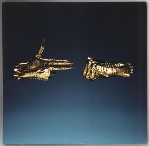Run The Jewels Run The Jewels 3 - Gold Vinyl 2-LP vinyl record set (Double Album) US YUR2LRU738205