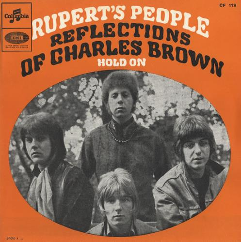 "Rupert's People Reflections Of Charles Brown 7"" vinyl single (7 inch record) French RJ507RE490652"