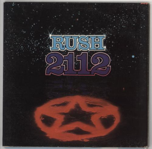 Rush 2112 (Twenty One Twelve) vinyl LP album (LP record) US RUSLPTW59285