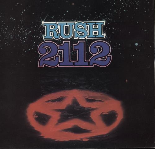 Rush 2112 [Twenty One Twelve] vinyl LP album (LP record) UK RUSLPTW88268