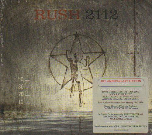 Rush 2112 - 40th Anniversary - Sealed 3-disc CD/DVD Set UK RUS3DTH673548