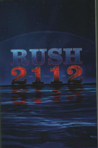 Rush 2112 - CD + Blu Ray 2-disc CD/DVD set US RUS2DCD681746
