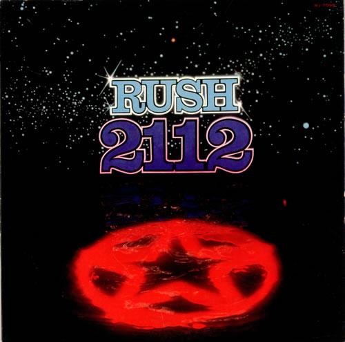 Rush 2112 White Label Japanese Promo Vinyl Lp Album Lp