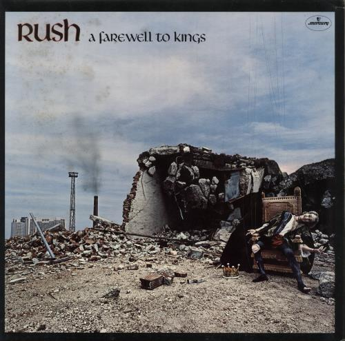 Rush A Farewell To Kings + Inner - EX vinyl LP album (LP record) UK RUSLPAF54895