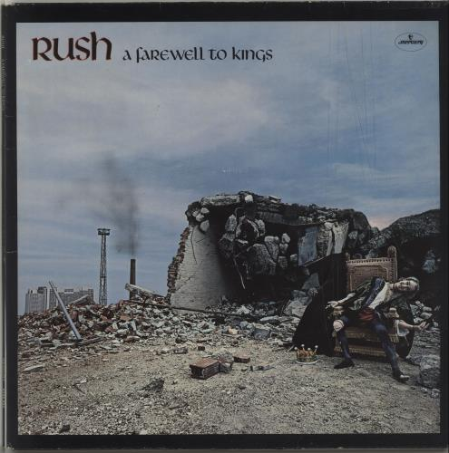 Rush A Farewell To Kings + Insert vinyl LP album (LP record) Dutch RUSLPAF424774