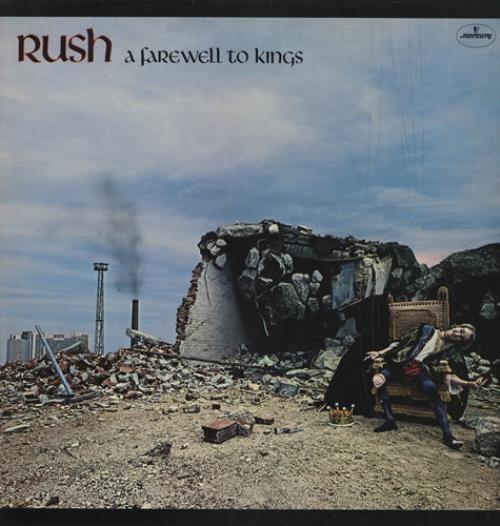 Rush A Farewell To Kings vinyl LP album (LP record) UK RUSLPAF428871