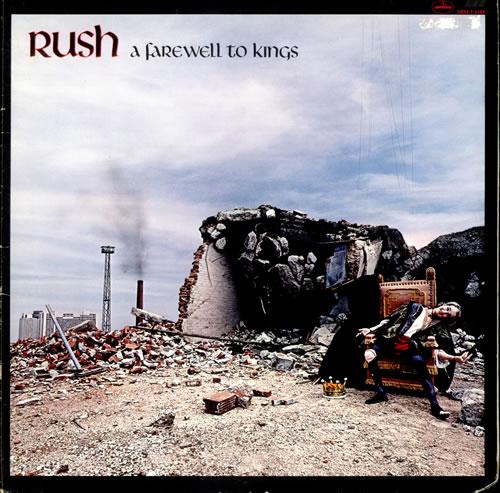 Rush A Farewell To Kings vinyl LP album (LP record) US RUSLPAF524900