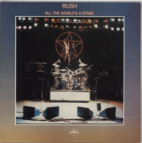 Rush All The World's A Stage 2-LP vinyl record set (Double Album) UK RUS2LAL422461