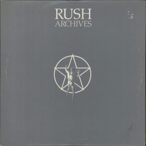 Rush Archives - EX 3-LP vinyl record set (Triple Album) UK RUS3LAR264347