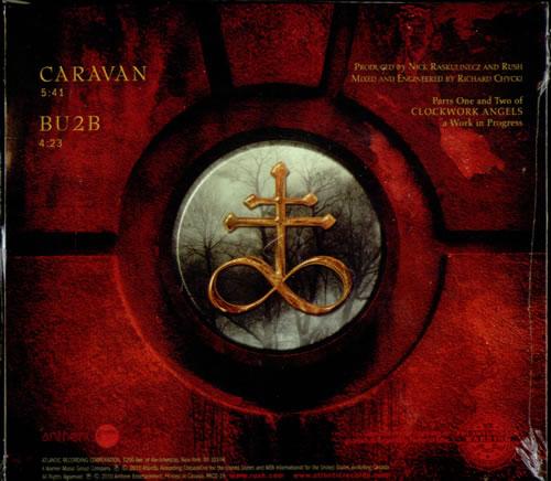 """Rush Caravan / BU2B - Sealed CD single (CD5 / 5"""") US RUSC5CA528296"""