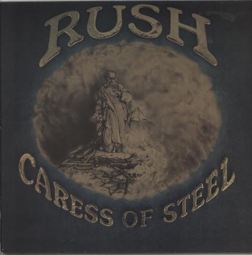 Rush Caress Of Steel vinyl LP album (LP record) UK RUSLPCA291045
