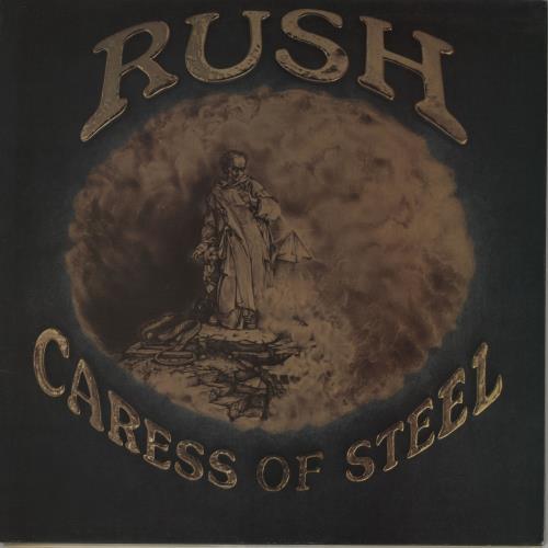 Rush Caress Of Steel vinyl LP album (LP record) UK RUSLPCA56699