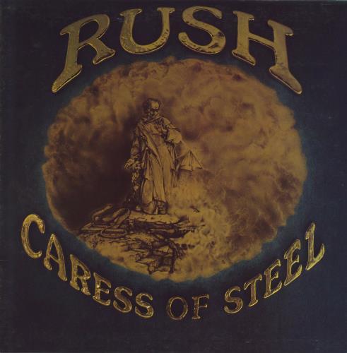 Rush Caress Of Steel vinyl LP album (LP record) US RUSLPCA597515